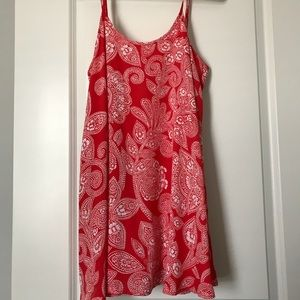 Show Me Your Mumu red paisley mini dress